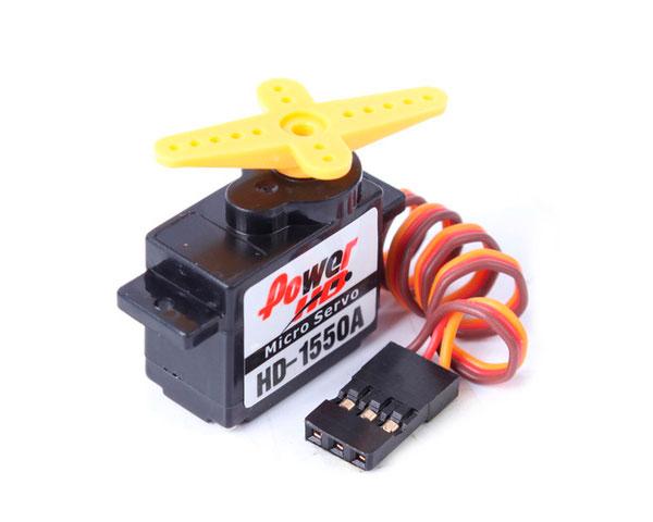 Сервопривод микро Power HD 1550A 0,9кг/0,12сек 5.5г