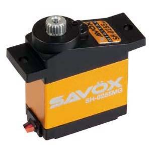 Сервопривод цифровой Savox 3,1-3,9 кг/см 4,8-6 В 0,16-0,13 сек/60° 16 г (SH-0255MG)