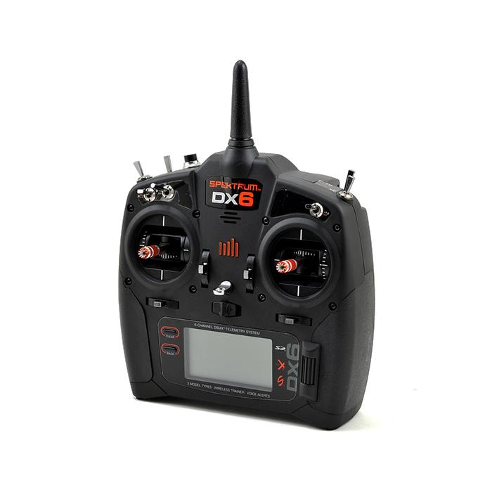 Радиоуправление Spektrum DX6 6CH с приемником SPM4648 Quad Race DSMX/DSM2