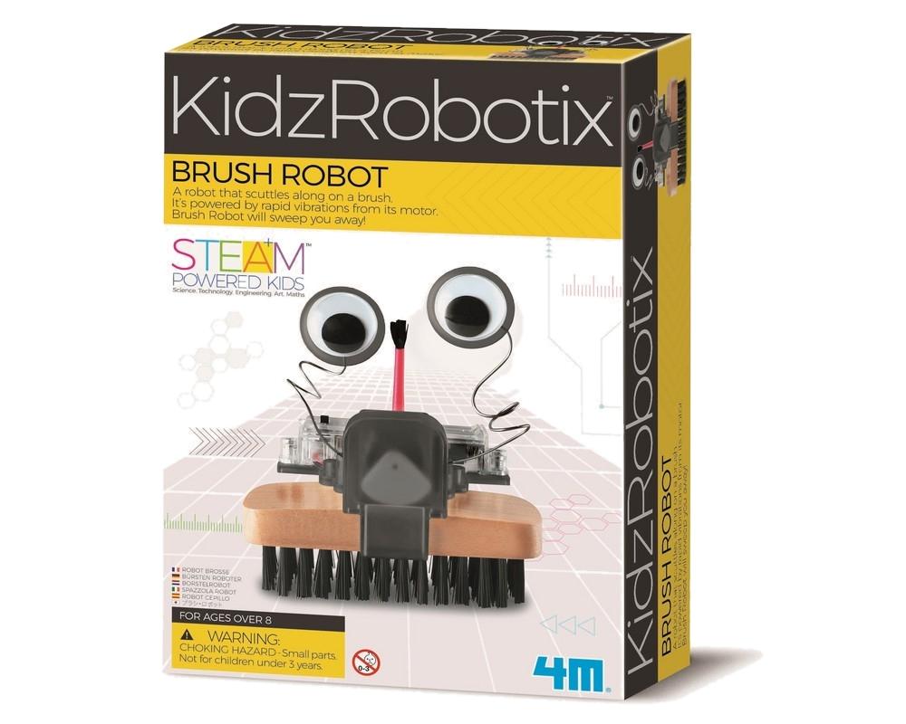 Конструктор 4M KidzRobotix Щеткоробот 00-03282