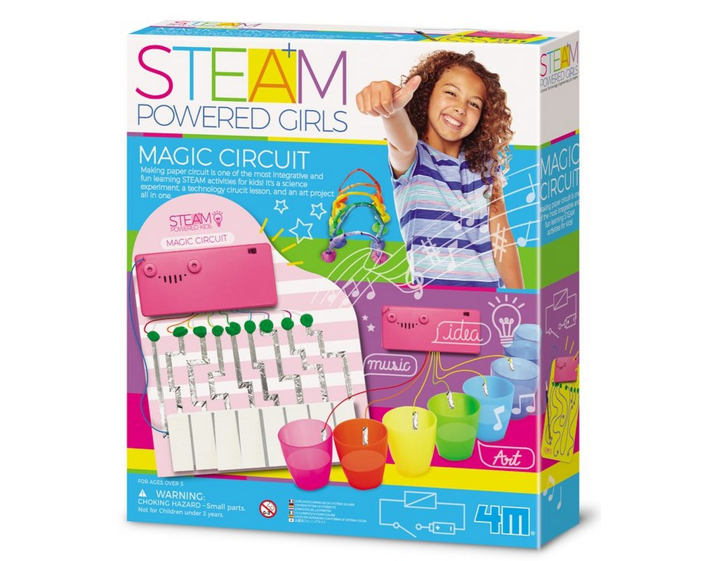 STEAM-набор 4M Магическая музыкальная цепь 00-04907
