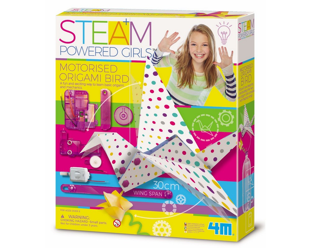 STEAM–набор 4M Птичка-технооригами 00-04903