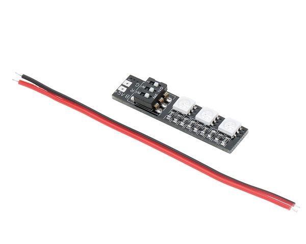 Светодиодный модуль RGB ReadyToSky 3x5050 для лучей мультикоптеров (5В)