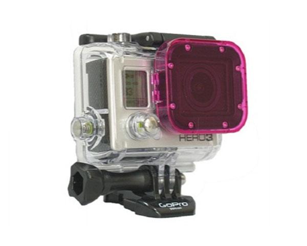 Светофильтр Polar Pro Cube Magenta для камеры GoPro HERO 3