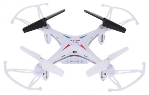Квадрокоптер Syma X13 Storm белый