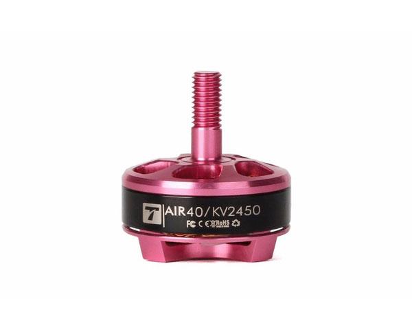 Мотор T-Motor AIR40 2205 2450KV 3-4S для мультикоптеров (розовый)