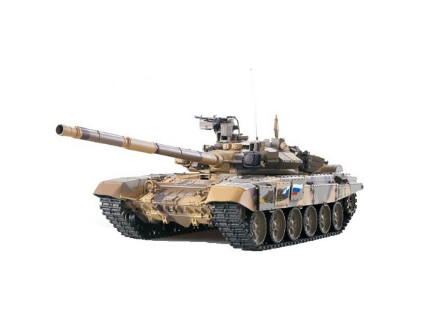 Радиоуправляемый танк 1:16 Heng Long Т-90 в металле с пневмопушкой и дымом