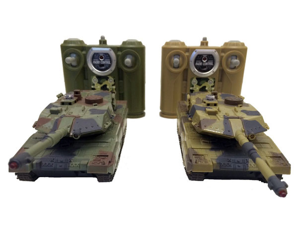 Танковый бой HuanQi 552 Leopard 2 1:48