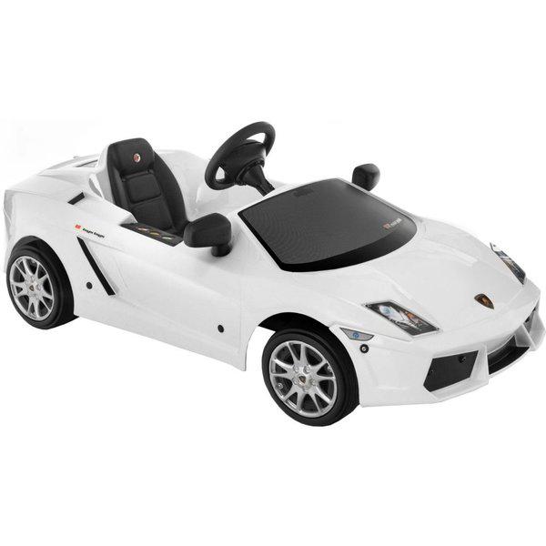 Детский автомобиль Toys Toys LAMBORGHINI GALLARDO (белый)