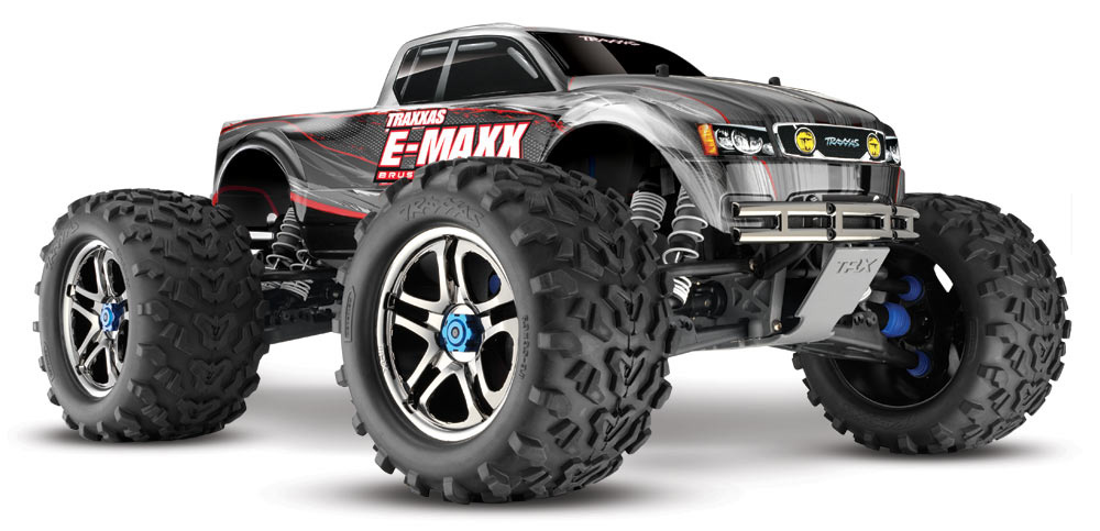 Монстр Traxxas E-Maxx Brushless Monster 1:10 RTR 571 мм 4WD 2,4 ГГц