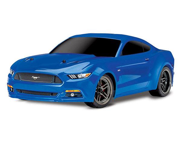 Шоссейный автомобиль Traxxas Ford Mustang GT 1:10 4WD RTR (83044-4 Blue)