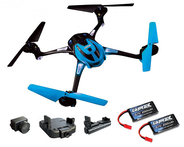Квадрокоптер Traxxas LaTrax Alias Super Combo HD камера 120° RTF 2,4 ГГц LED