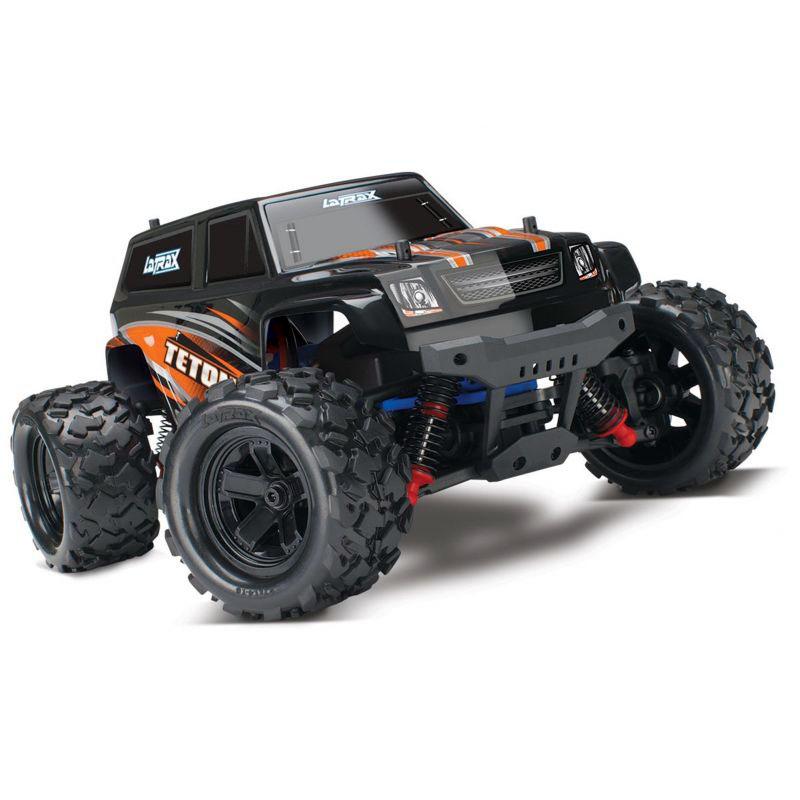 Монстр Traxxas LaTrax Teton 1:18 RTR 258 мм 4WD 2,4 ГГц (76054-5 Orange)