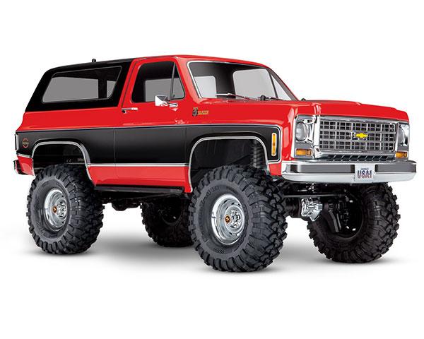 Краулер Traxxas Chevrolet Blazer 1:10 4WD RTR (82076-4 Red)