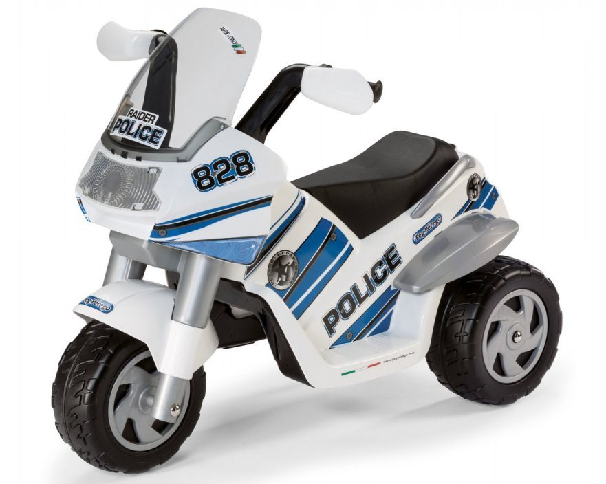 Трицикл Peg-Perego Raider Police