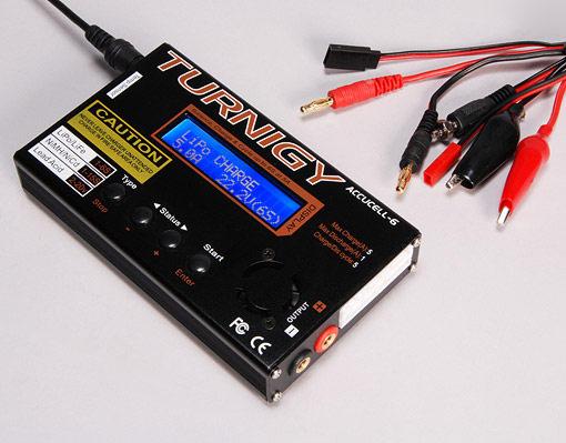 Зарядное устройство Turnigy Accucel-6 50W 5A (Turnigy, 34675)
