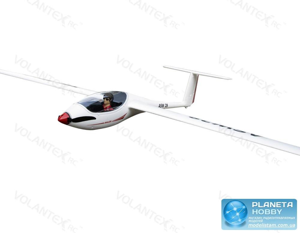 Модель р/у планера VolantexRC ASW28 (TW-759-1) 2600мм 2.4GHz PNP