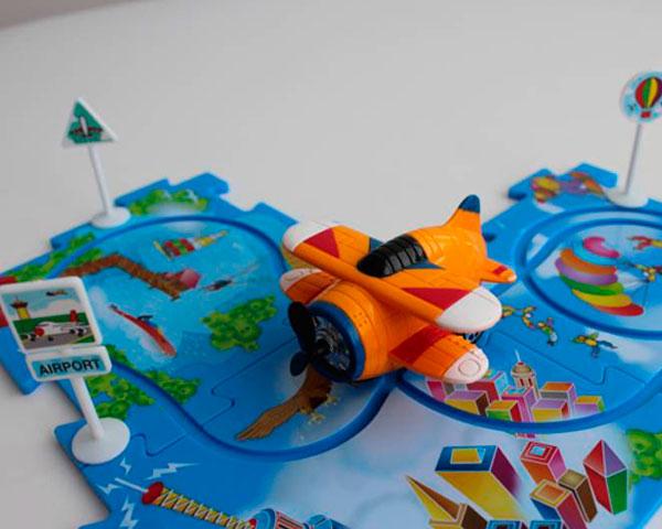 Управляемый пазл Amewi Puzzle Pilot Биплан