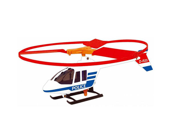 Вертолет Police Copter с пусковой установкой от Paul Gunther