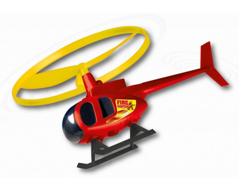 Вертолет Paul Gunther Fire Copter с пусковой установкой