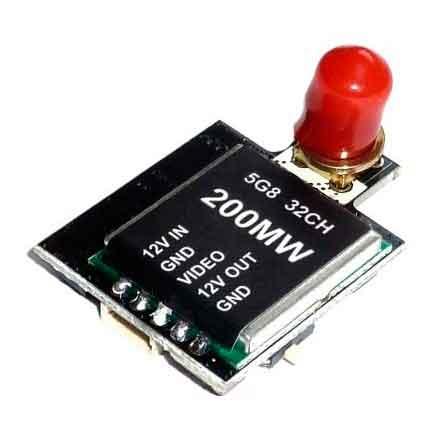 Видеопередатчик EMAX FPV 5,8 ГГц 20/200 мВт 32 канала