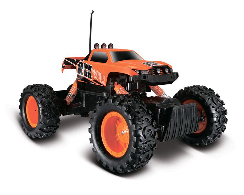 Внедорожник на радиоуправлении Maisto Rock Crawler (оранжевый)