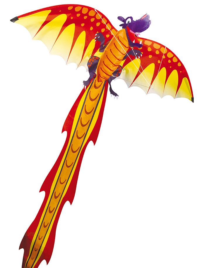 Воздушный змей Дракон 3D