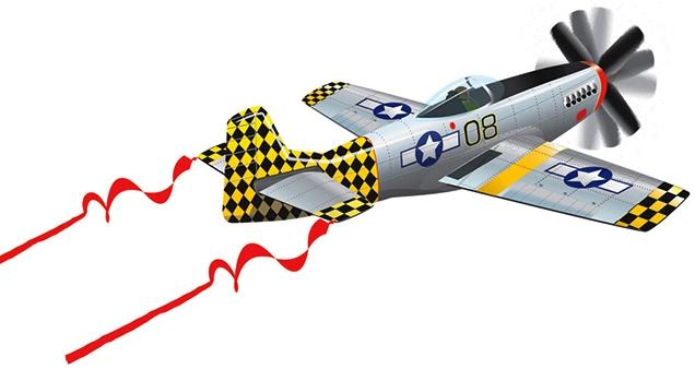 Воздушный змей WindnSun Mustang 3D 1270 x 1070 мм 82065