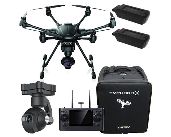 Гексакоптер Yuneec Typhoon H Professional с тепловизионной камерой CGO-ET и 3-мя батареями