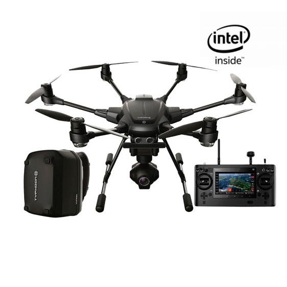 Гексакоптер Yuneec Typhoon H Professional Real Sense с 4K FPV камерой, рюкзаком и 2 АКБ RTF