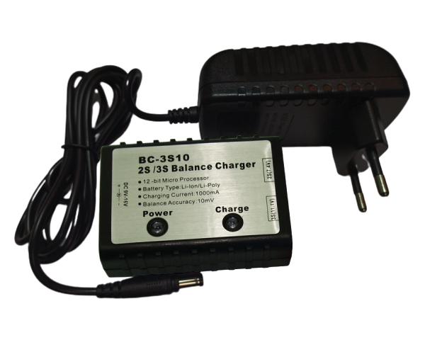 Зарядное устройство TOP-RC BC-3S10 2-3S Li-Po Li-Ion Balance 1.0A