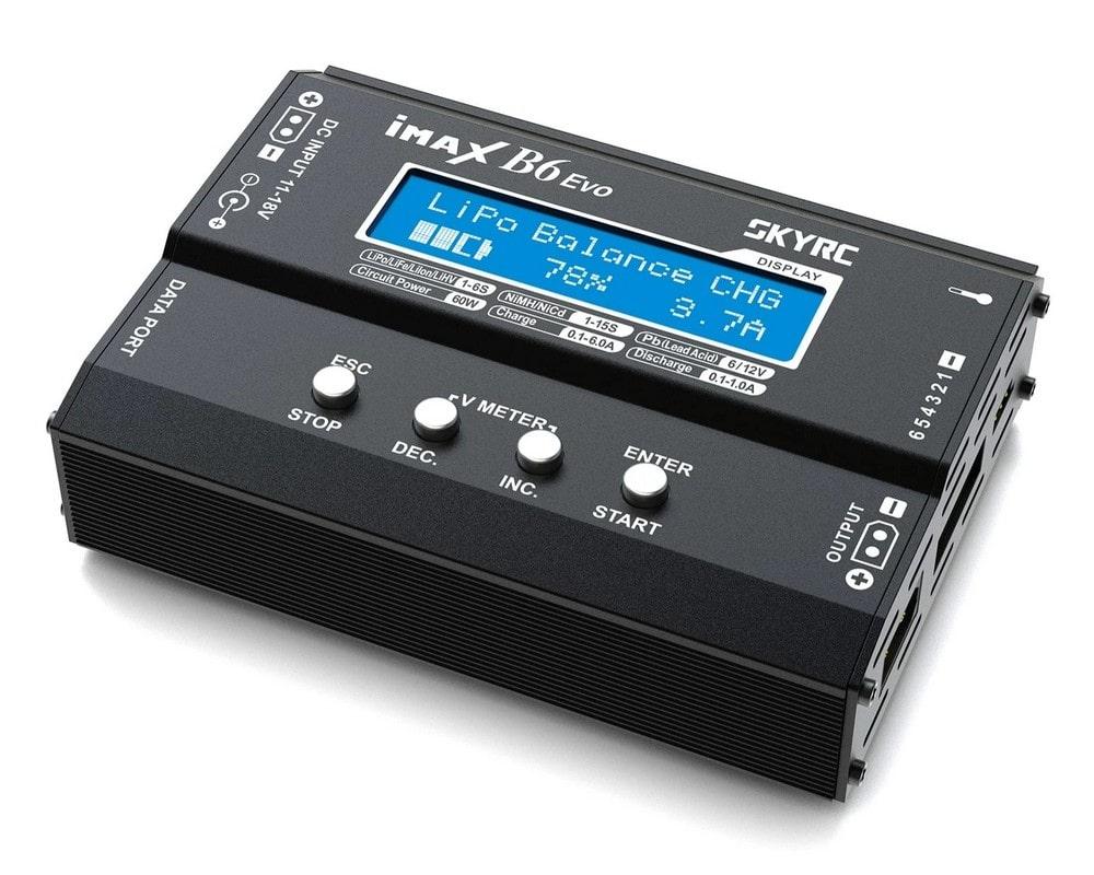 Зарядное устройство SkyRC iMAX B6 Evo 6A/60W без/БП универсальное