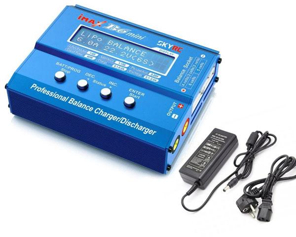 Зарядное устройство SkyRC iMAX B6 Mini на 6A/60W и БП 72W