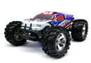 BSD Racing EP Brushless Monster Truck 4WD 1/8 2,4Ghz RTR Version (BS808T Blue)