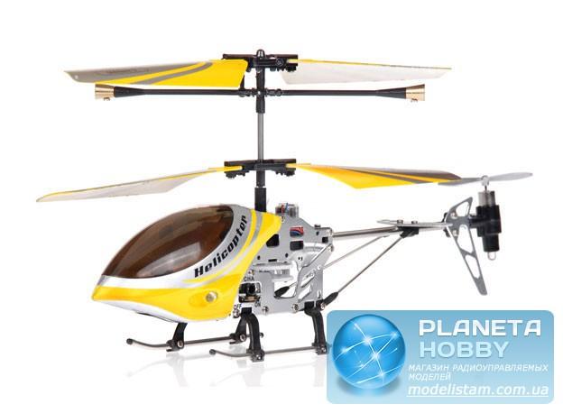 Вертолет Falcon-X с гироскопом желтый (777-112 Yellow) .