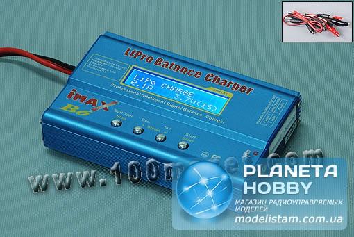 Зарядное устройство IMAX B6 50W 5A (HO-12B6)Код товара : HO-12B6Производитель : IMAX Универсальное микропроцессорное...