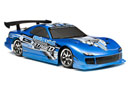 HPI E10 Drift with Mazda Rx-7 FD3S 4WD 1:10 Blue (HPI10712)