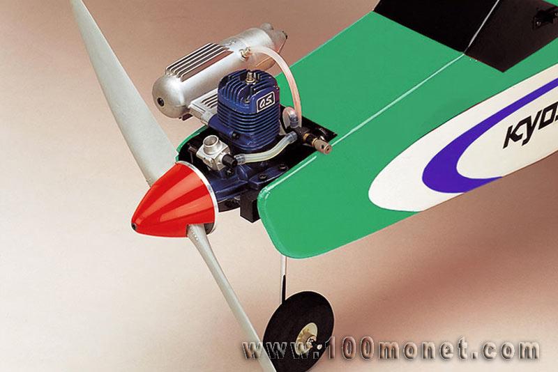 Радиоуправляемый самолет с двс своими руками