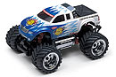 MINI-Z Monster Mad Force 2WD, 1:24, электро, бело-синяя, L=170мм (Kyosho, 30081T2)