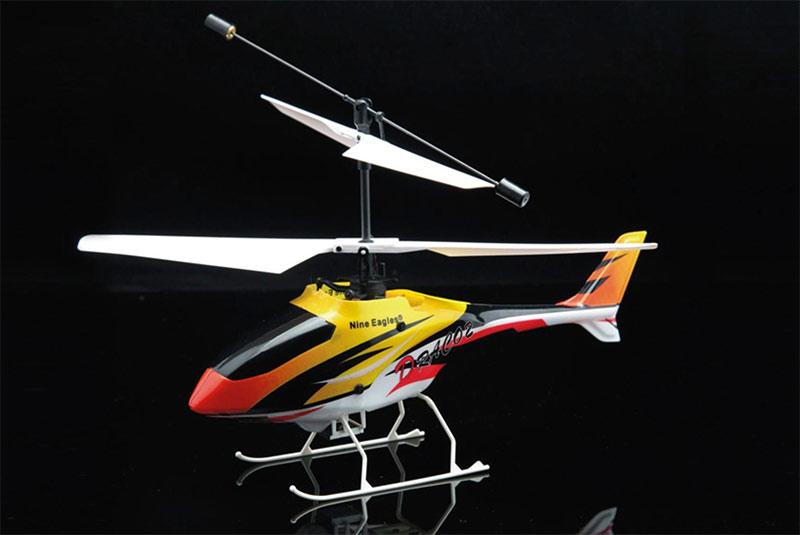 Гарантия.  Вертолет Draco Yellow RTF 2,4Ghz в кейсе (Nine Eagle, NE30221024202002A)Радиоуправляемая модель Nine...
